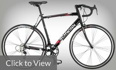 Schwinn Men's Phocus 1400 700C Drop Bar Road Bicycle, Black, 18-Inch  This is a bike that is meant to satisfy the needs of consumers and to provide them with an affordable performance road bike. Schwinn designed this bike to be swift, responsive, and comfortable. The Schwinn Men's Phocus is strong and light, no doubt that this bike would be perfect for training or simply enjoying a cruise down your favourite route.