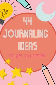 44 journaling ideas to get you started. Journaling for self-care Bullet Journal Planner, Bullet Journal Inspiration, Writing Inspiration, Journal Prompts, Art Journal Pages, Art Journals, Journal Ideas, Writing Challenge, Art Journal Techniques