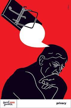Luba Lukova: Privacy Poster