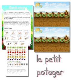 Le petit potager | La classe de Laurène | Bloglovin' Math 2, Diy Presents, Plantation, Planer, Education, Blog, New York, School, Gardens