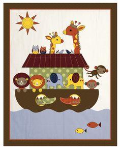 noah's ark baby bedding | Noah Ark Unique Monkey Giraffe Jungle Themed Boy Baby Bedding Designer ...