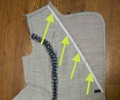 Gertie's New Blog for Better Sewing: Tailoring Your Coat Front, Part One