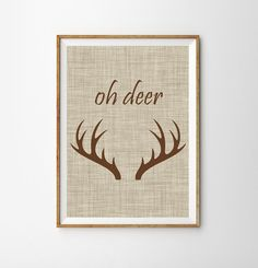 Let visitors instantly know they've entered a reindeer lover's house with this…