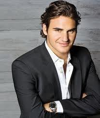 Roger Federer...off the court!