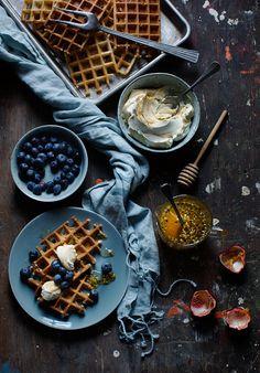 Waffles Leparfait.se Food styling and recipe Liselotte Forslin Photo Ulrika Ekblom