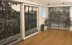 Charlotte Mann Hand Drawn Walls Room