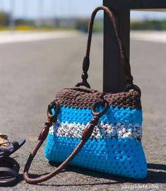 70 ΙΔΕΕΣ ΓΙΑ ΠΛΕΚΤΕΣ ΤΣΑΝΤΕΣ ΜΕ ΒΕΛΟΝΑΚΙ - Ιδέες για όλα Crochet Patterns, Shoulder Bag, Purses, Crafts, Bags, Inspiration, Yandex, Fashion, Crochet Pouch