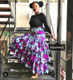 Kente Fabric Designs: See These Kente Styles For Fashionable Ladies - Lab Africa African Inspired Fashion, Latest African Fashion Dresses, African Print Fashion, Africa Fashion, African Print Skirt, African Print Dresses, African Dress, African Prints, African Attire
