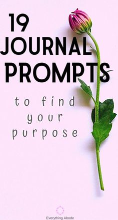 Have you ever done a full set of journal prompts before? Journaling can be so cathartic. Here are 19 Personal Growth Journal Prompts To Find Your Purpose. Daily Journal Prompts, Journal Ideas, Improve Yourself, Finding Yourself, Self Development, Personal Development, Highly Sensitive Person, Feeling Lost, Self Care Routine