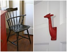 Love these red accents in the nursery - #munire #pinparty #MadeInUSA