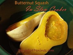 Best Butternut Squash in Slow Cooker. Seriously the easiest way to cook a butternut squash.