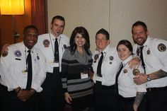 But, there's one group that really stole the show and that was the crew from Nightwatch!