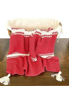 Candy Cane Baby Blanket Crochet Kit Easy Crochet Baby | Etsy