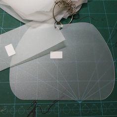 32 design DIY handmade bag pvc pattern bag template by kesterpurse