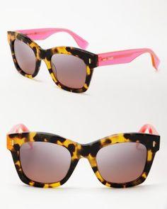 Fendi Oversized Square Sunglasses | Bloomingdale's