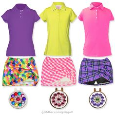 NEW! Girls golf apparel from Garb, B-Skinz and Blingo now available at golf4her.com