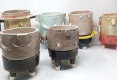 Vasi in ceramica - The TerraTiny Family - Max Schiavetta Mugs, Tableware, Dinnerware, Tumblers, Tablewares, Mug, Dishes, Place Settings, Cups