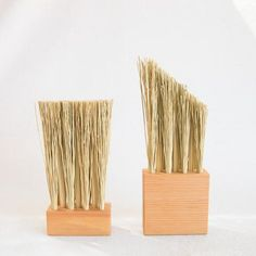 Hannah Quinn Fir Brush at General Store Broom Corn, New Mexico Homes, Pink Tone, Paint Brushes, Wood And Metal, Tool Design, Timeless Design, Home Goods, Shapes