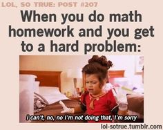 Except with my teacher it's for completion and if you skip even one problem you make a 3/4...