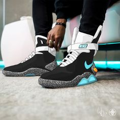 differently 38211 a5cde Nike Air Mag Atmos Elephant Nike Air Mag, New Nike Air, Grey Nikes,