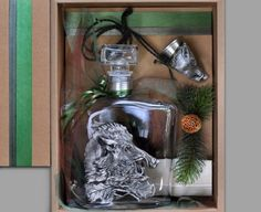 Gift for hunter - carafe and glass