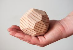 How to: Make a DIY Faceted Wooden Gem Paperweight...or Decorative Object...or Whatever This Is » Curbly | DIY Design Community