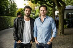 Swedish actor Fares Fares and Danish actor Nikolaj Lie Kaas - both star in the Danish crime movie 'The Keeper of Lost Causes' (Kvinden i buret) - the first movie in the 'Department Q mysteries' serie - written by Jussi Adler-Olsen