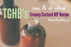 Healthy Hair: Easy DIY Creamy Custard