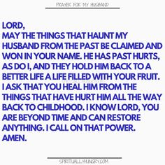 Prayer for my husband is something that we should always be doing as it helps us to see our husband with fresh eyes. Keep your marriage on track and your appreciation for your hubby in check with these prayers. Prayer for family is always a very good thing!