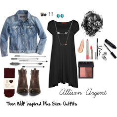 Allison Argent Inspired Plus Size. Affordable. Teen Wolf. by plussizeextrafashion on Polyvore featuring Boohoo, J.Crew, Oasis, Steve Madden, Forever 21, Wet Seal, La Preciosa, Rebecca Minkoff, NARS Cosmetics and Bobbi Brown Cosmetics