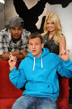 Rob Dyrdek has been cracking me up since Rob & Big. I love him because he brightens up my day with his positive/crazy personality.