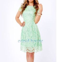 short mint bridesmaid dresses - Google Search