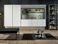 Cucine Ikea A Scomparsa : Cucine Monoblocco A Scomparsa Pictures to pin on Pinterest