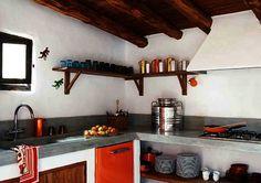 Casa con esencia rural y glamour
