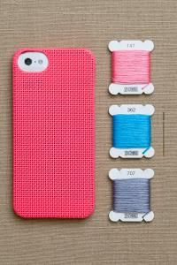 Cross stitch cases! purl soho | products | item | iphone 5 cases (leese design)