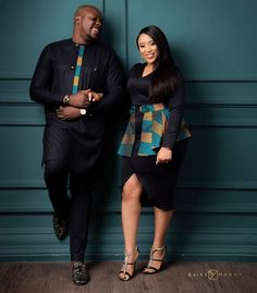 71 Collection Of - Beautiful Aso Ebi Style Lace & African Print For December 2019 - Emman Couples African Outfits, African Dresses Men, Latest African Fashion Dresses, African Print Fashion, African Attire, African Wear, African Shirts, African Style, Matching Couple Outfits