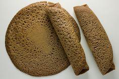 Injera - Ethiopian Sourdough Flatbread