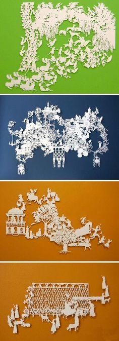 Amazing paper cutting designs 1-29