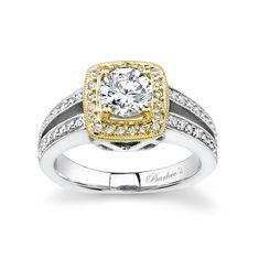 Cascade Split Shank Engagement Rings