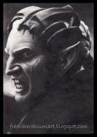 Malekith king of the dark elves by FredrikEriksson1