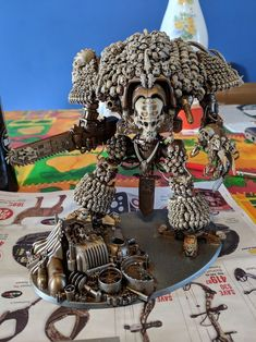 Neatly done Imperial (?) Knight :) - - Neatly done Imperial (?) Knight 🙂 Neatly done Imperial (?-- Begin Yuzo --><!-- without result -->Related Post Spark your life with these 36 awesome hobbies. THE 10 TRICK Warhammer 40k Necrons, Warhammer 40k Space Wolves, Warhammer Figures, Warhammer Models, Warhammer 40k Miniatures, Night Lords, Tabletop, Imperial Knight, Game Workshop