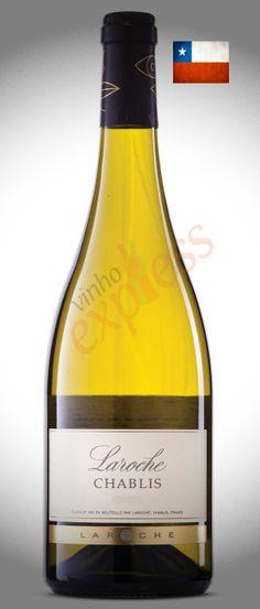 Michel Laroche representa a quinta geração da família, que produz vinhos na região de Chablis desde 1850.  Branco elaborado a partir de uvas Chardonnay, sem passagem por madeira, permanece de quatro a seis meses em contato com as borras finas em tanques de aço inox antes de ser engarrafado. R$104.00 ou R$98,80 à vista no boleto! http://www.vinhoexpress.com.br/vinhos/laroche-chablis.html