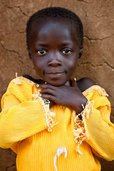 the-fragile-beauty-of-this-world:    Shy Lendu girl - DR CONGO - by C.Stramba-Badiali on Flickr.