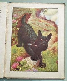 Jolly Pets Vintage 1930s Illustrated Childrens Book by RummageRomy, $39.00