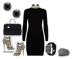 """""""Little Black Dress"""" by gemique ❤ liked on Polyvore featuring Polo Ralph Lauren, Dolce&Gabbana, Jimmy Choo, David Yurman and SHOUROUK"""