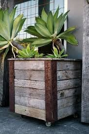 planter box on wheels - Google Search