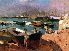 Sorolla y Bastida, Joaquin (1863-1923) - 1910 Valencia