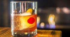 The Robert Baratheon  2 oz Aberlour 12 Year-Old Single Malt Scotch  1⁄4 oz Dry vermouth  1⁄4 oz Luxardo Maraschino Liqueur  2 dashes Angostura bitters  Garnish:   Cherry