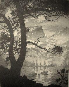 Lyman Byxbe(American, 1886-1980)Bear Lake  1937.