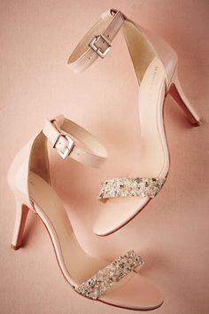Rose Aurora Heels | BHLDN